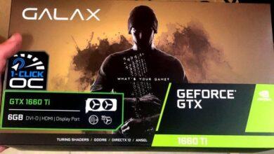 Photo of Primeras imágenes de la GALAX GTX 1660 Ti 1-Click OC